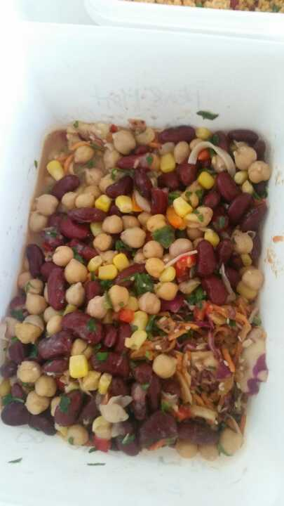 Bean salad from Moo