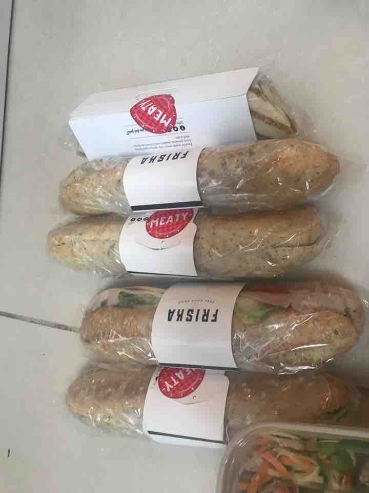 Wraps and baguettes