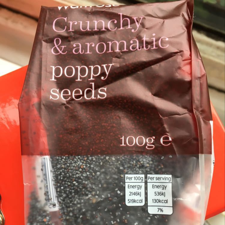 Unopened poppy seeds