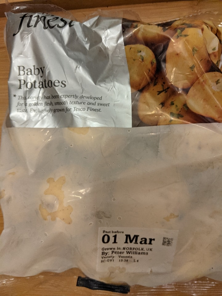 BB 1 March: 2 bags of Finest baby potatoes 750g