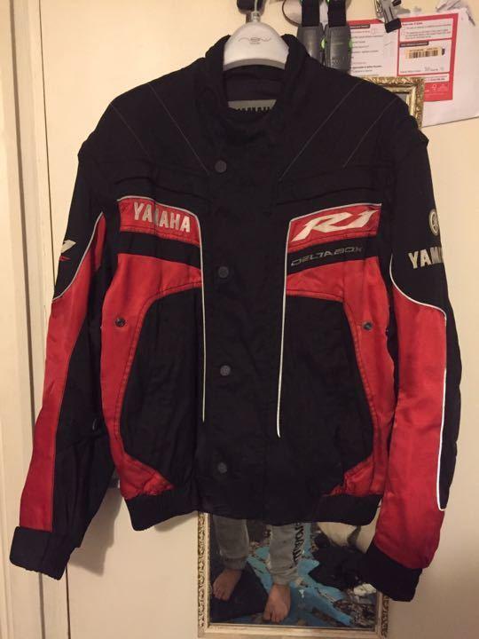 Yamaha R1 bike jacket, size medium