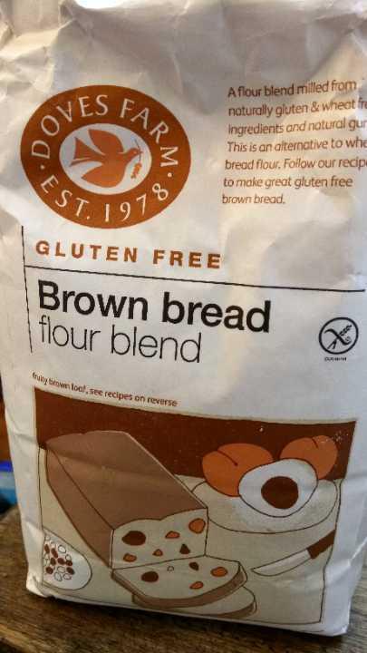 Gluten free brown bread flour mix