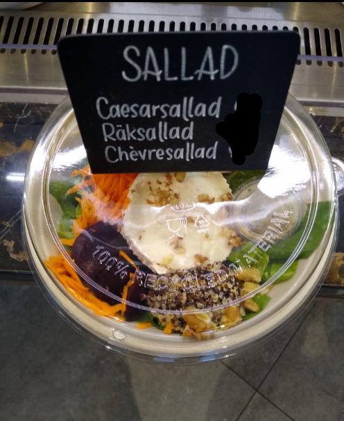 Chevre salad bowl