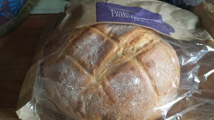 400g round loaf eat ASAP BR