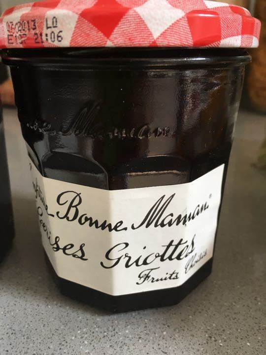 Out of date Bonne Maman Cherry Jam