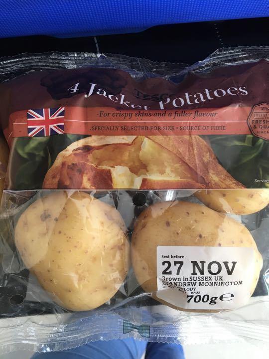 4pk jacket potatoes
