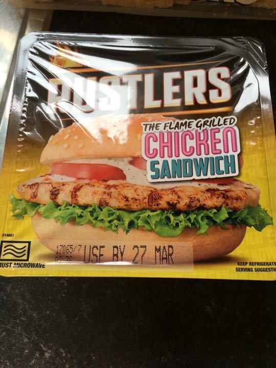 Chicken sandwich x 4