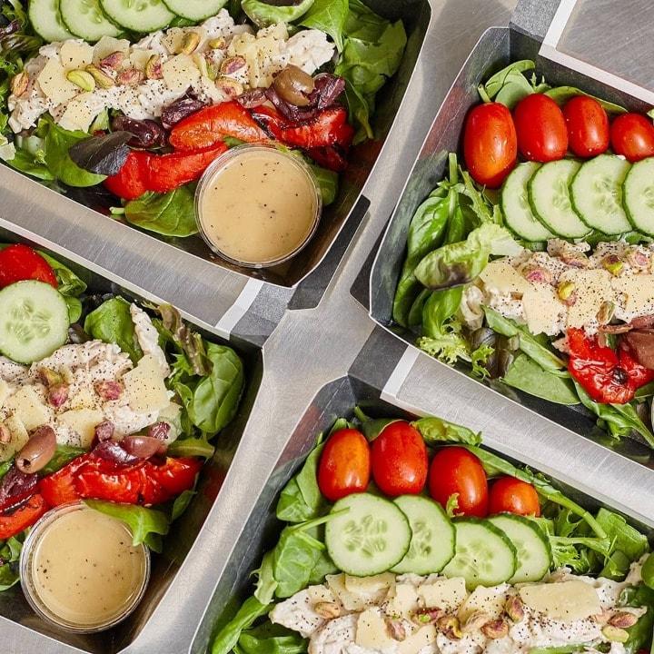 Pret bang bang chicken salad boxes!