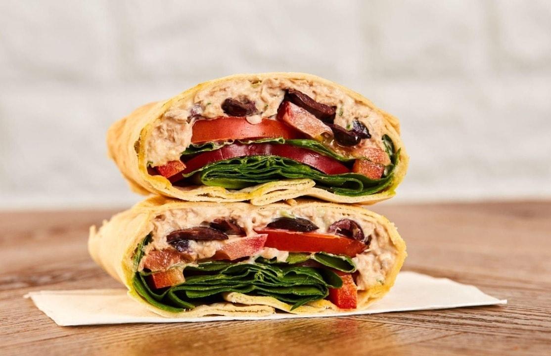 Pret falafel flatbread