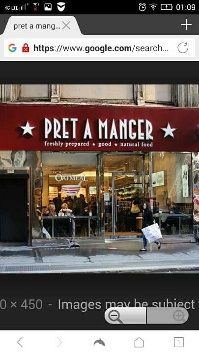 Pret A Manger surplus foods - Firswood, MANCHESTER M16