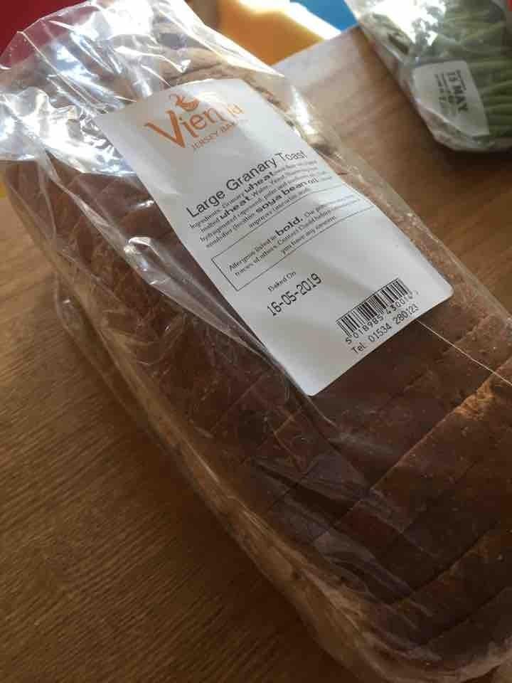 Large granary toast
