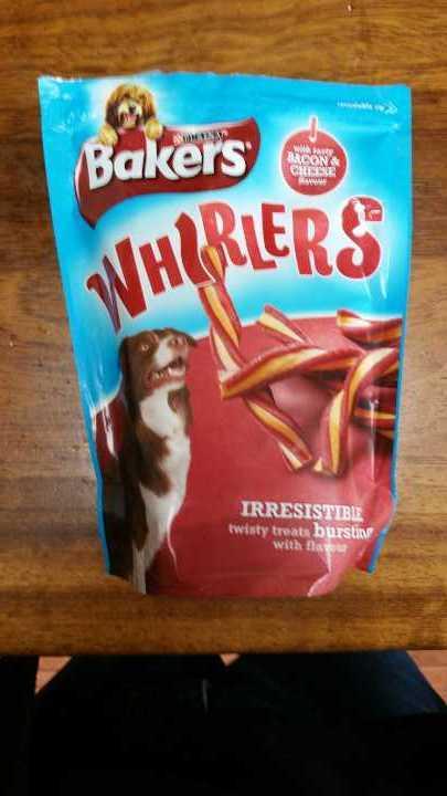Whirlers dog treats