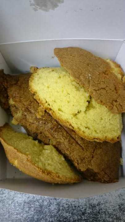 Carrot and vanilla sponge offcuts free to a good home!