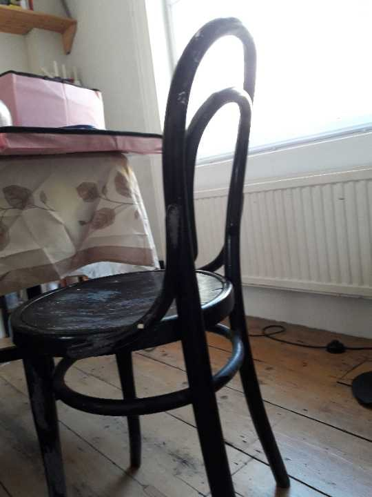WANTED - bistro wooden chair