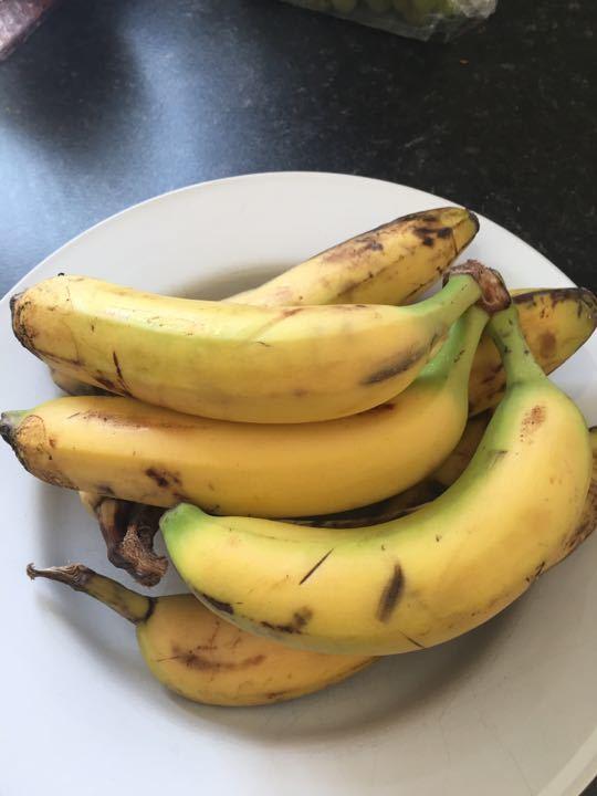 Bananas need using soon