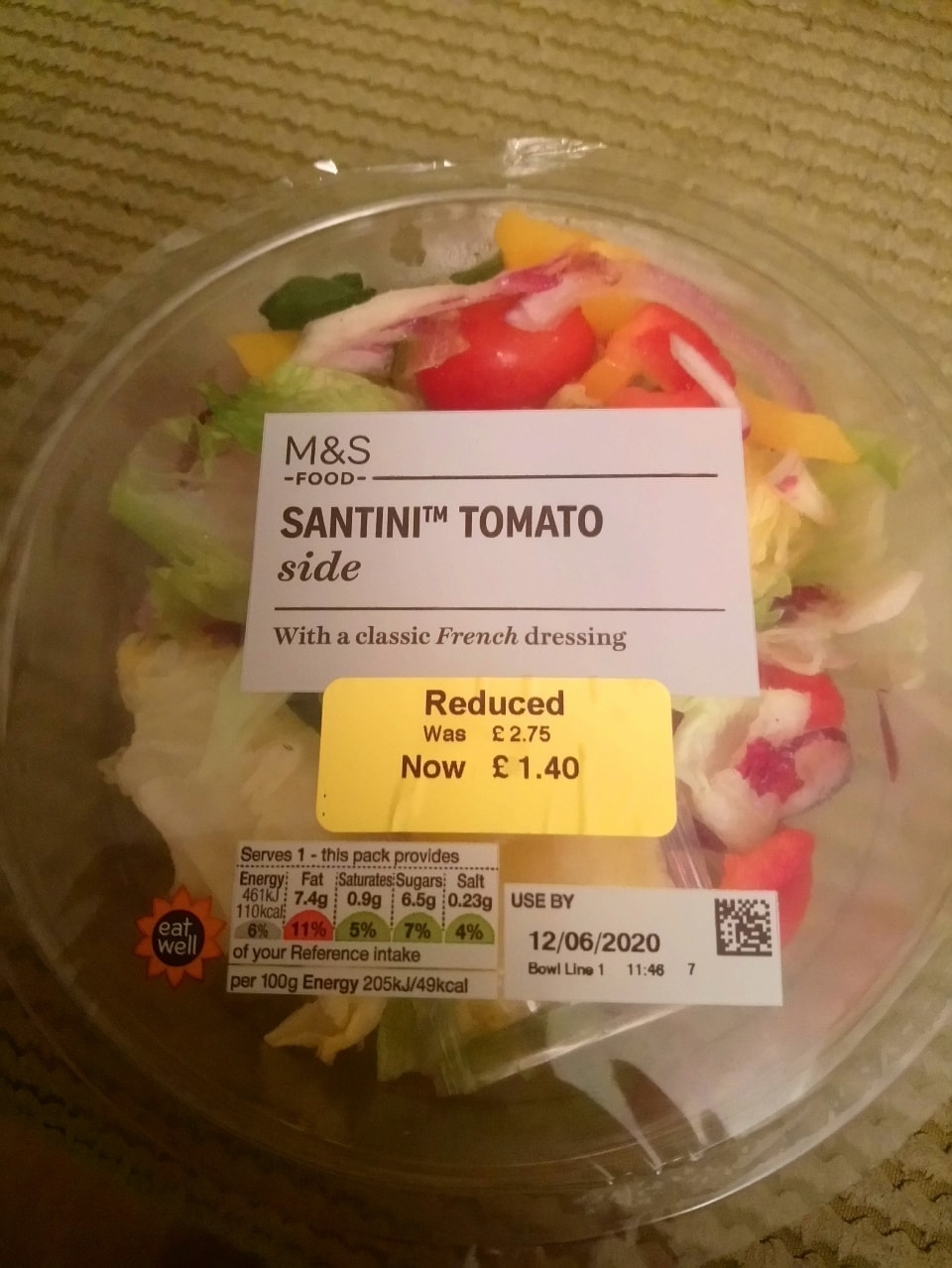 Santini tomato salad