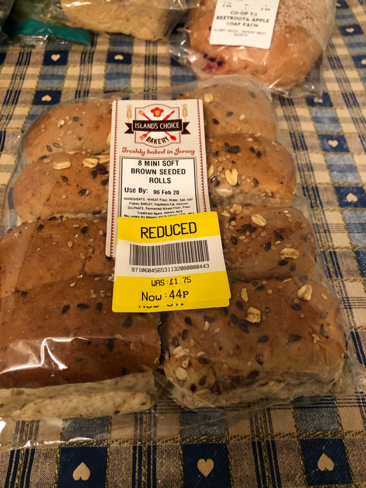 Brown seeded rolls