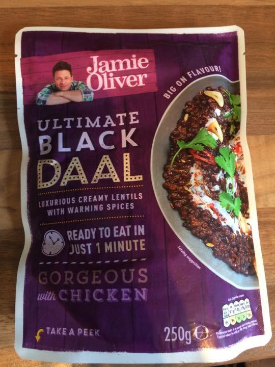 Jamie Oliver ultimate black daal