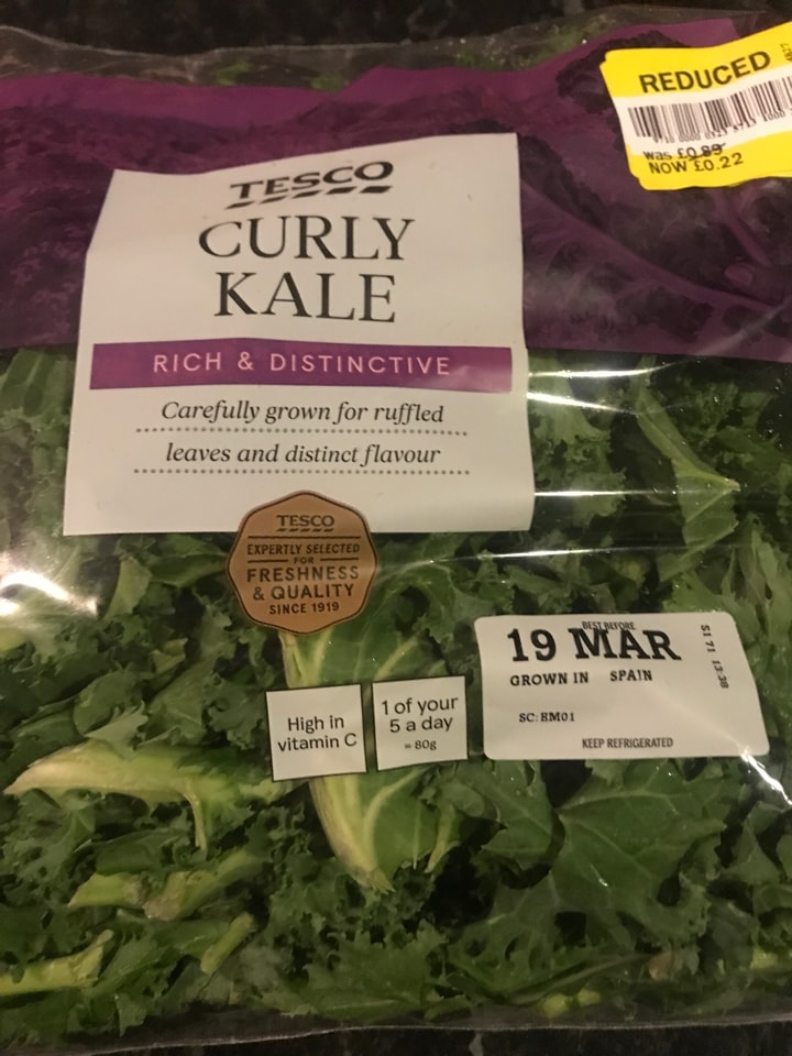 Tesco Curly Kale