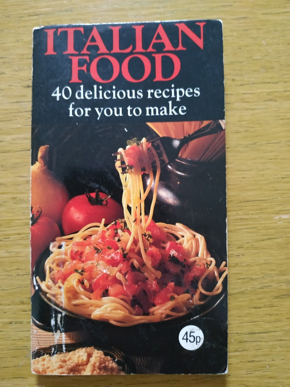 Book - Italian food