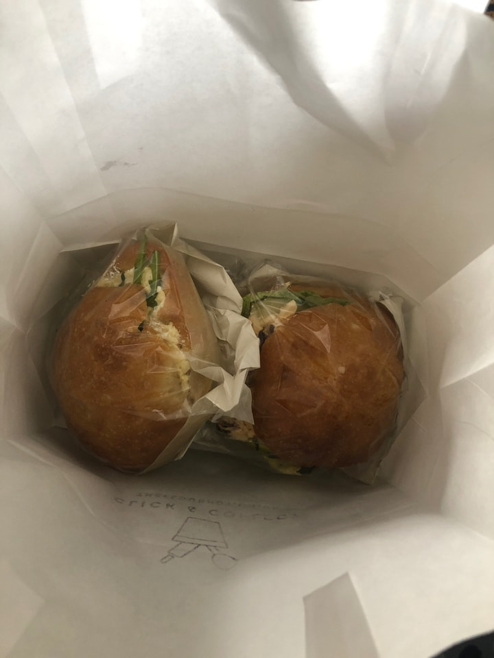 Flour Pot Veggie/Vegan Sandwiches