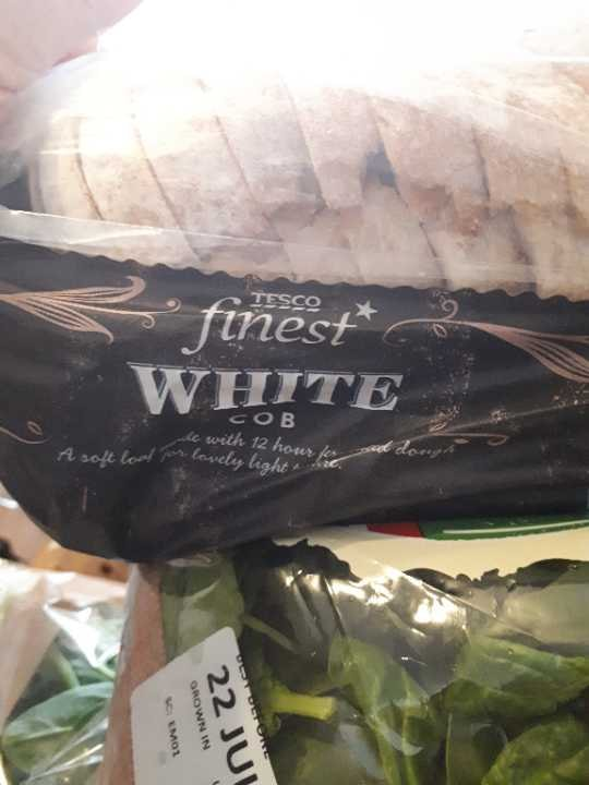 Tesco white cob