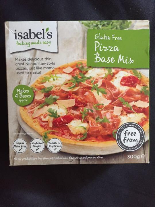 Gluten free pizza bases
