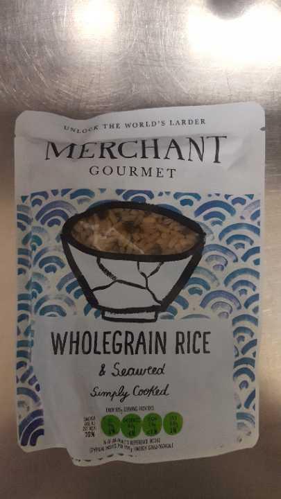 Wholegrain Rice & Seaweed