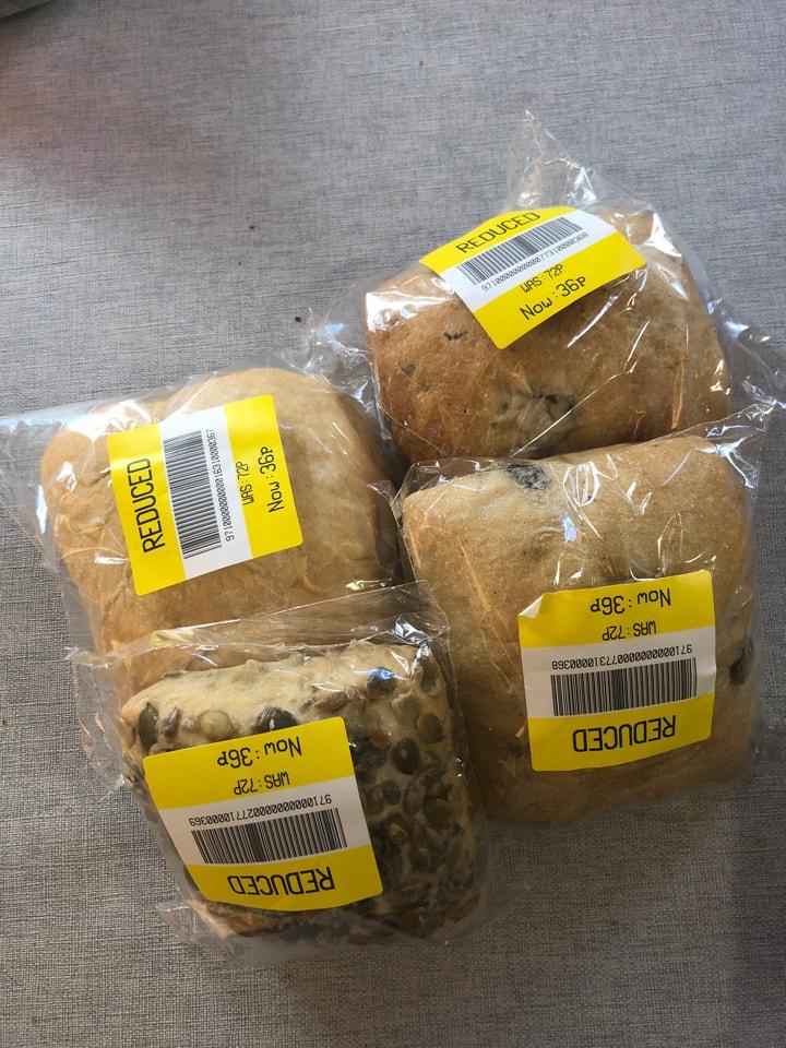 4 individual bread 🍞