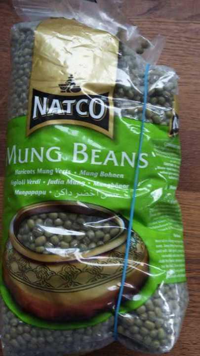 896g of mung beans
