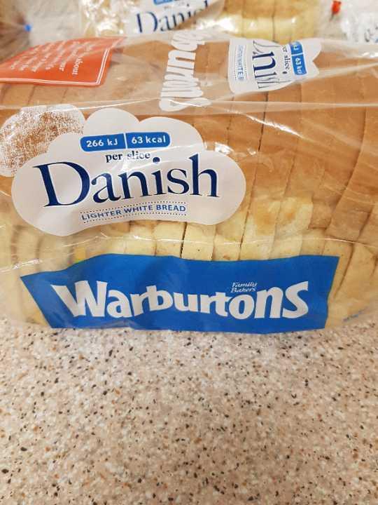 Warburtons Danish x2
