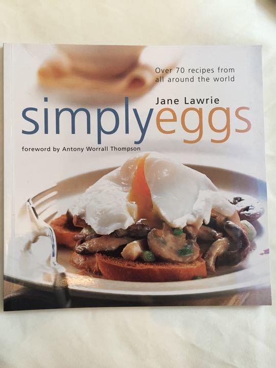 Simply eggs cookbook