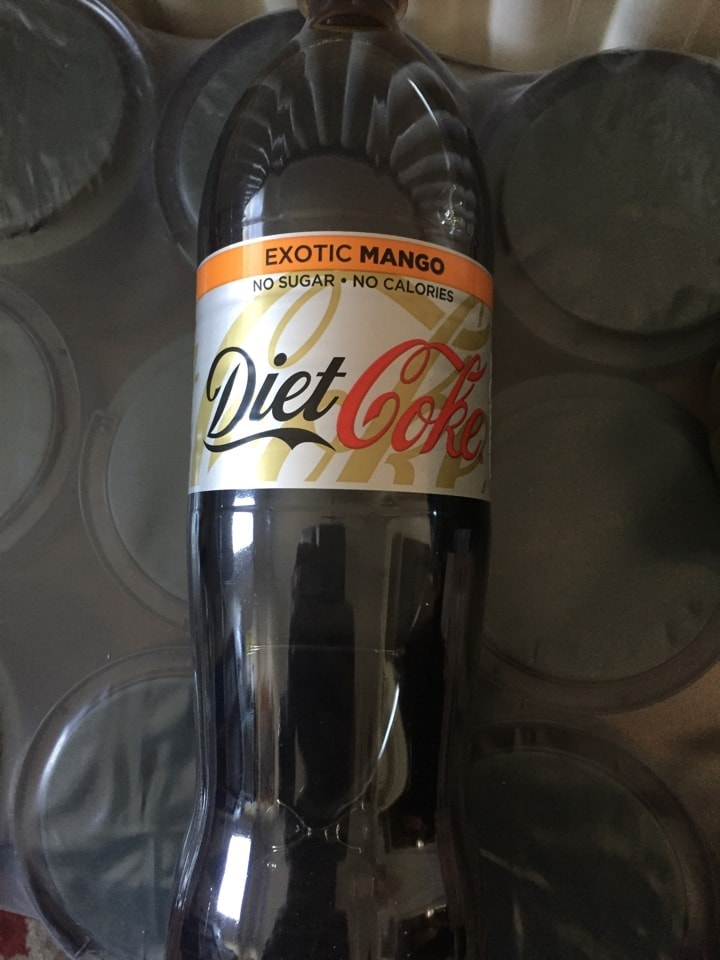 1 x 1.25 litre exotic mango diet coke