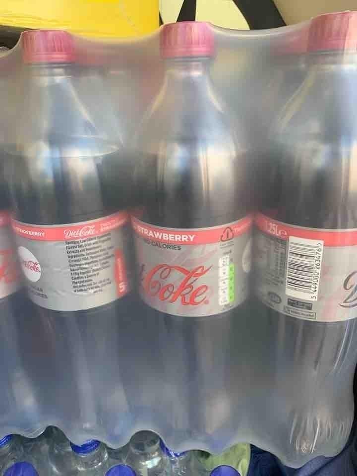 Strawberry Diet Coke 1.25litres