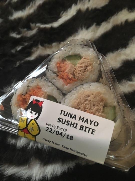 Sushi bites x 3