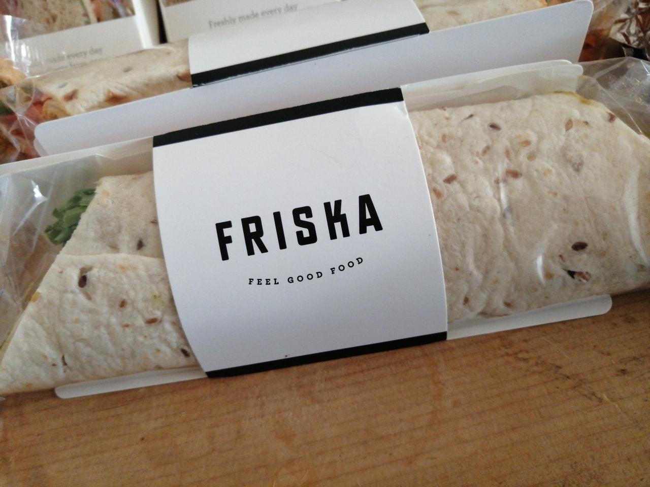 Friska Chicken and avocado wrap