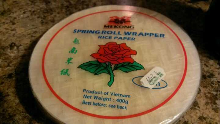 Rice Paper Spring Roll Wrapper