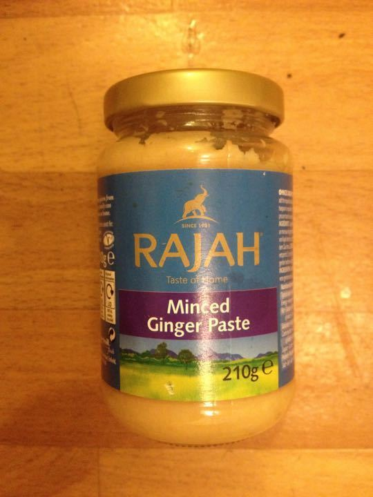 Small jar ginger paste