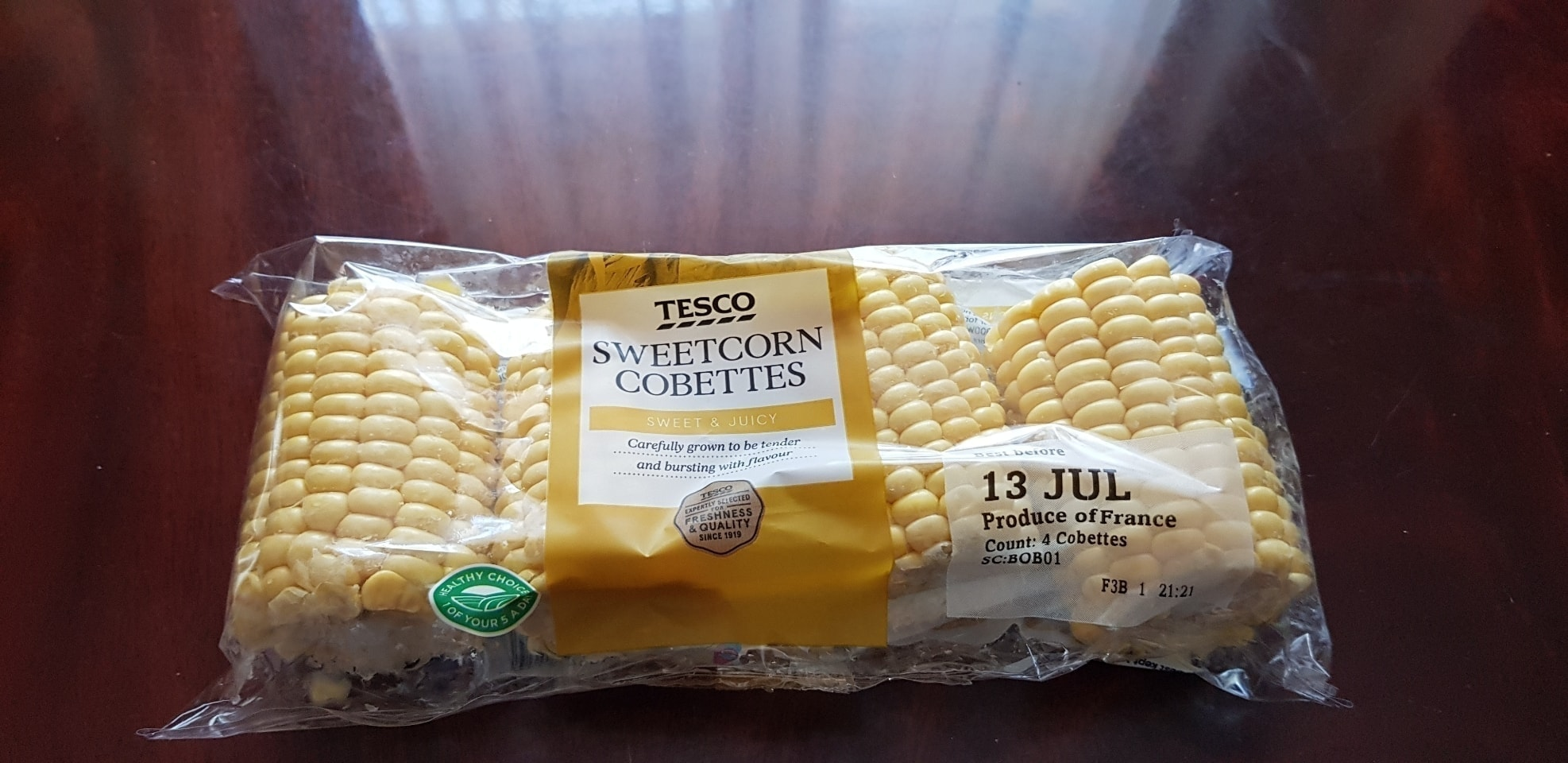 Sweetcorn cobettes