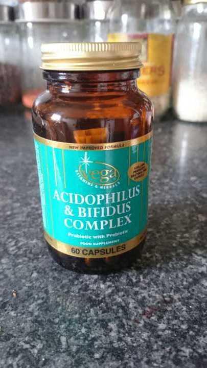 Vega Acidophilus & bifidus complex 60 capsules