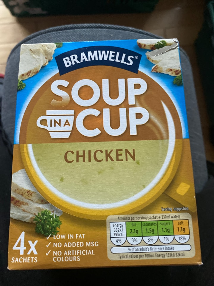 Chicken cup a soup