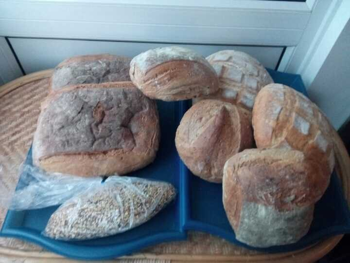 Woodingdean pick-up: BREAD large and small loafs