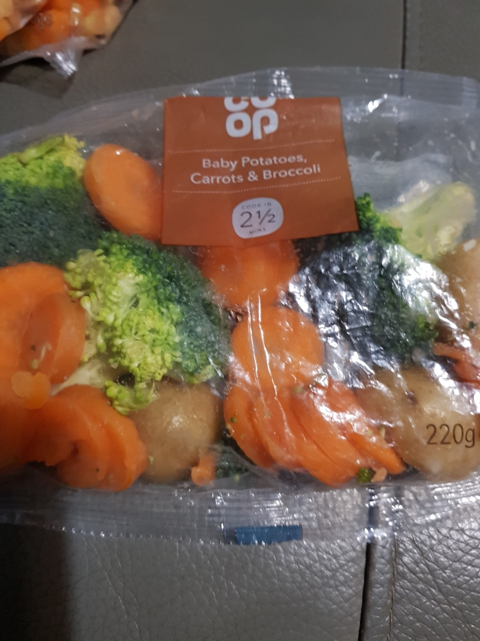 Potatoes,  carrots and broccoli- must collect tonight before 10.30pm