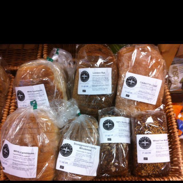 organic breads