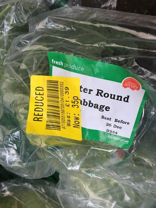 Outer round cabbage