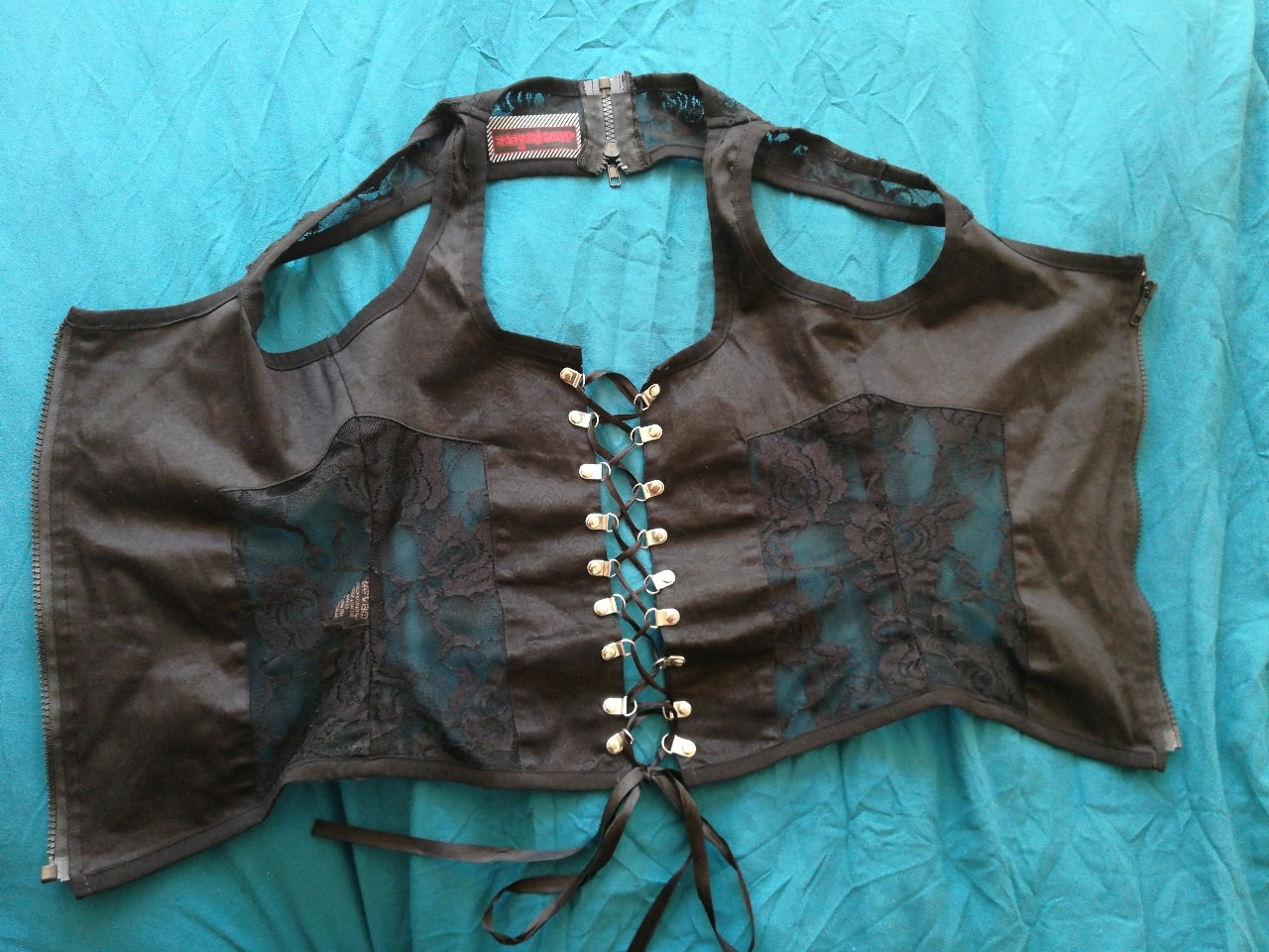 Goth top adaptable size