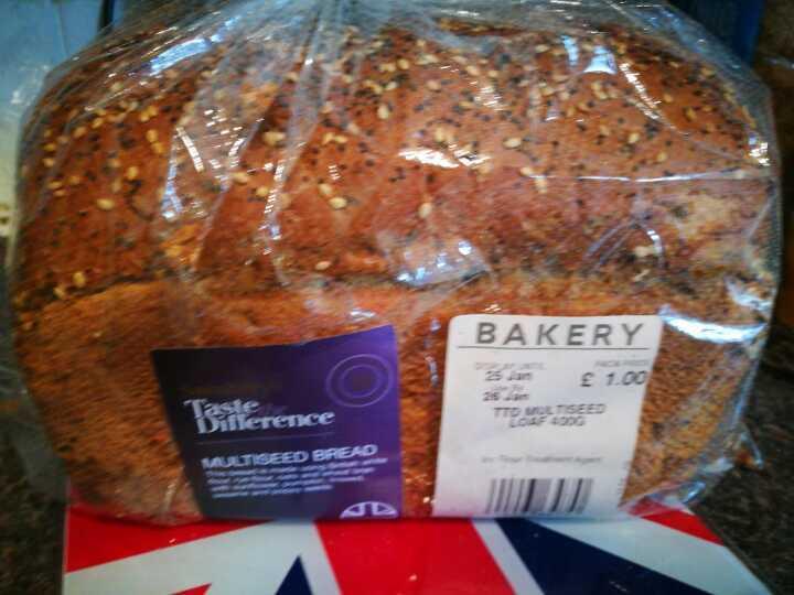 Sainsbury's multiseed bread