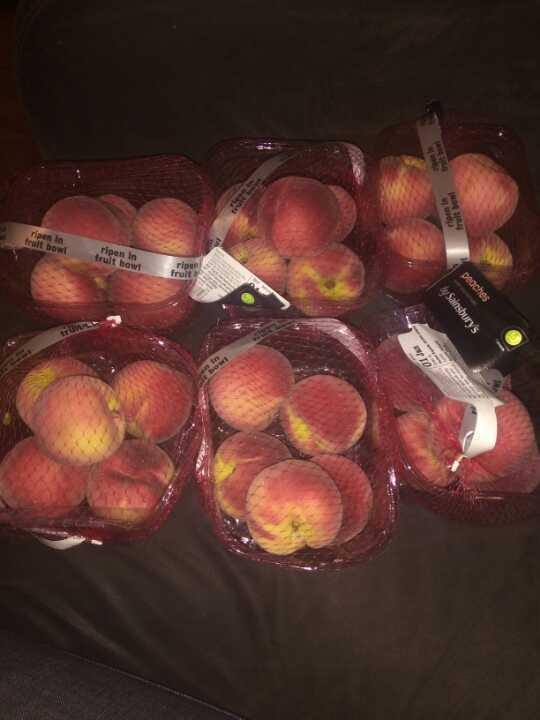 Peaches 1 pack left
