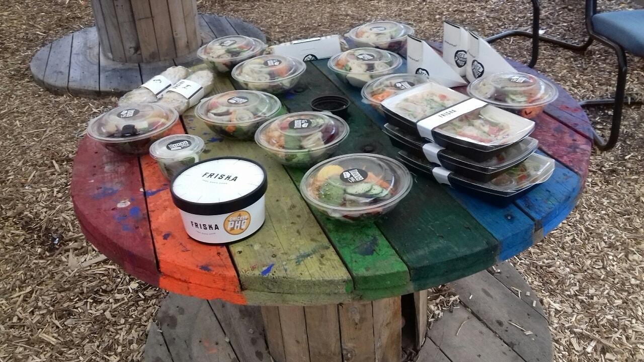 Friska selection. Pick up within Hulme c Garden centre. M15 5RG