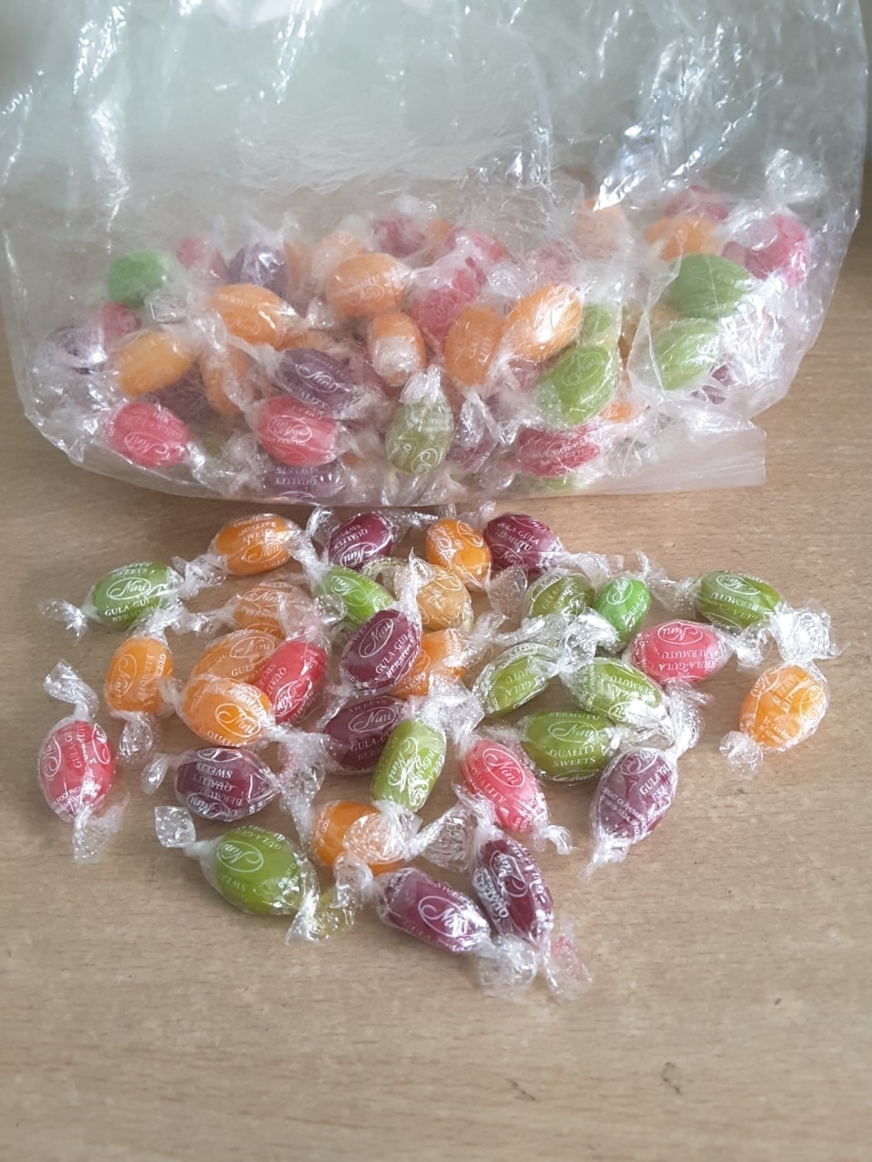 Assorted Fruit Flavoured Candy